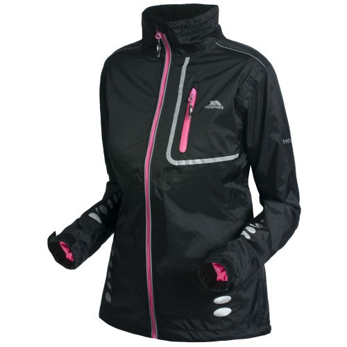 Front - Trespass Womens/Ladies Fairing Waterproof Active Jacket