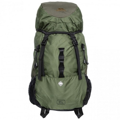 Front - Trespass Circul8 Hiking Backpack/Rucksack (30 Litres)