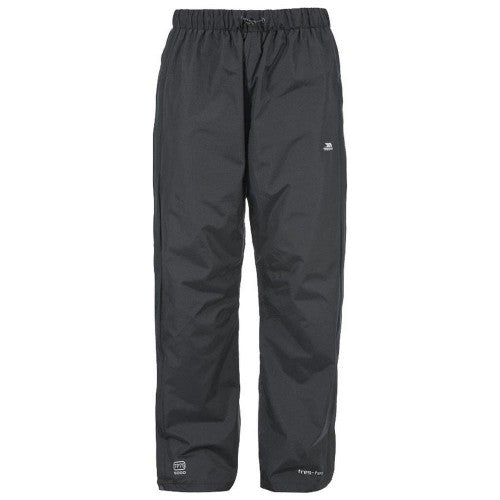 Front - Trespass Mens Purnell Waterproof & Windproof Over Trousers