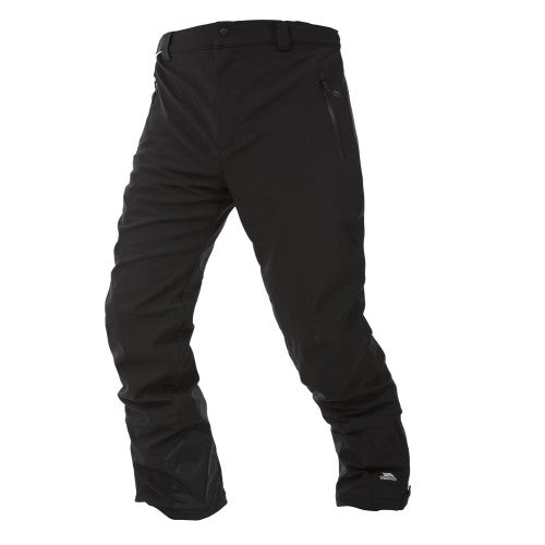Front - Trespass Mens Westend Stretch Waterproof Ski Trousers
