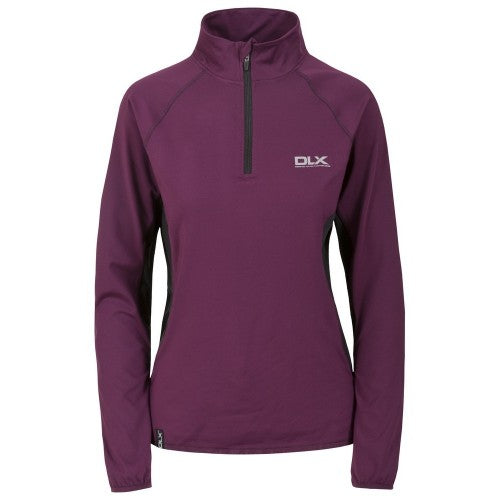 Front - Trespass Womens/Ladies Frey Long Sleeve DLX Active Top