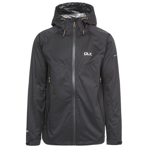 Front - Trespass Mens Edmont II DLX Waterproof Jacket