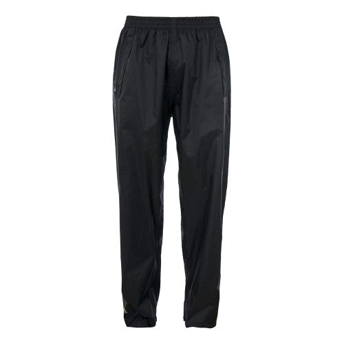 Front - Trespass Adults Unisex Qikpac Overtrousers/Bottoms