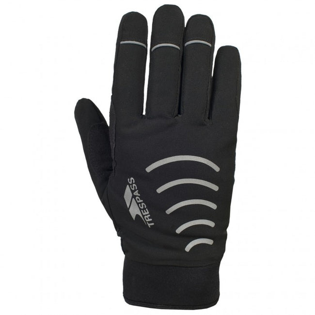 Front - Trespass Adults Unisex Crossover Gloves (1 Pair)