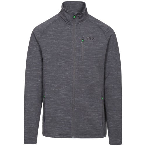 Front - Trespass Mens Brolin DLX Fleece Jacket
