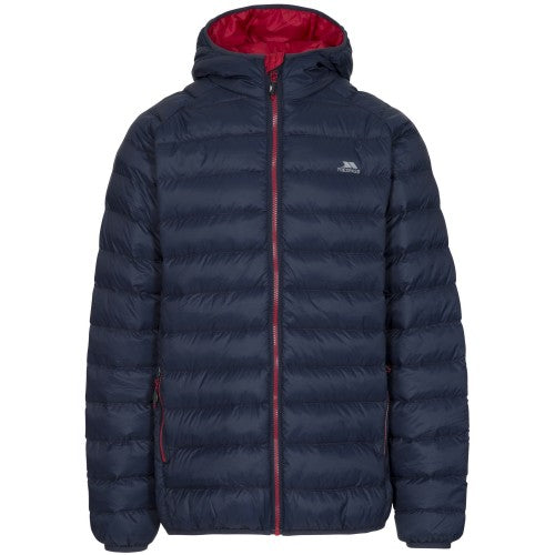 Front - Trespass Mens Bosten Casual Padded Jacket