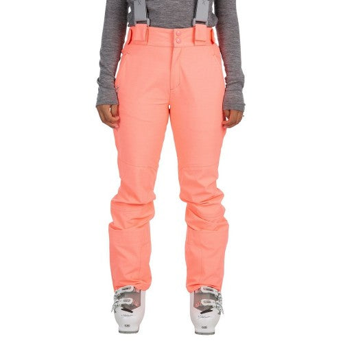 Front - Trespass Womens/Ladies Jacinta DLX Ski Salopettes Trousers