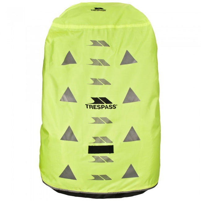 Front - Trespass Sulcata Reflective Rucksack/Backpack Cover