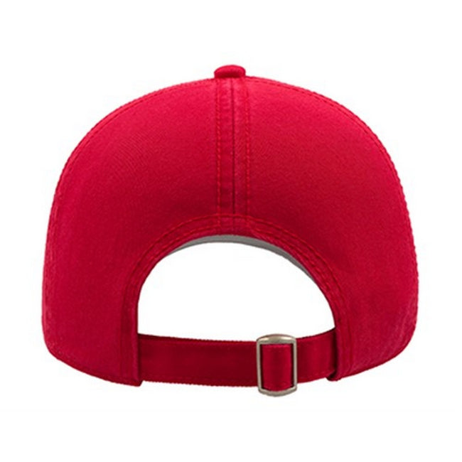Fuchsia - Front - Atlantis Action 6 Panel Chino Baseball Cap