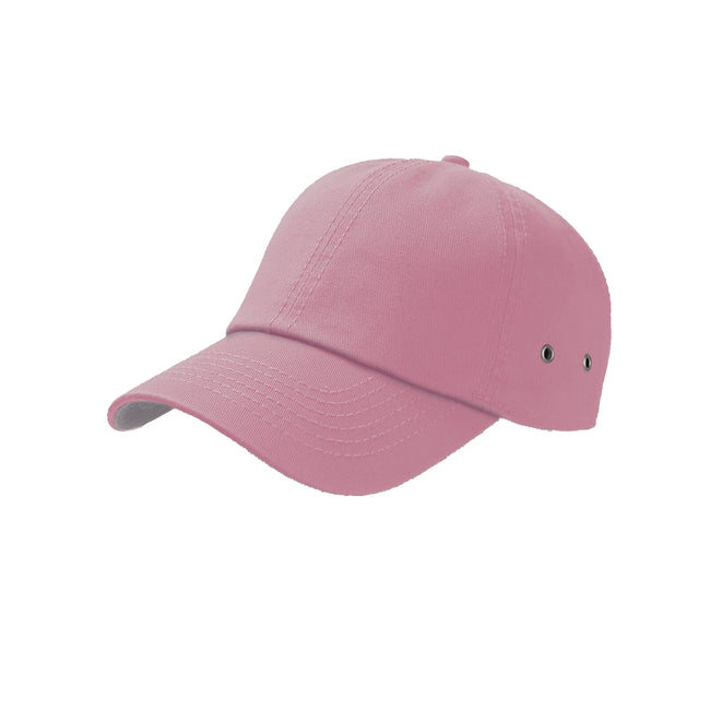 Grey - Front - Atlantis Action 6 Panel Chino Baseball Cap