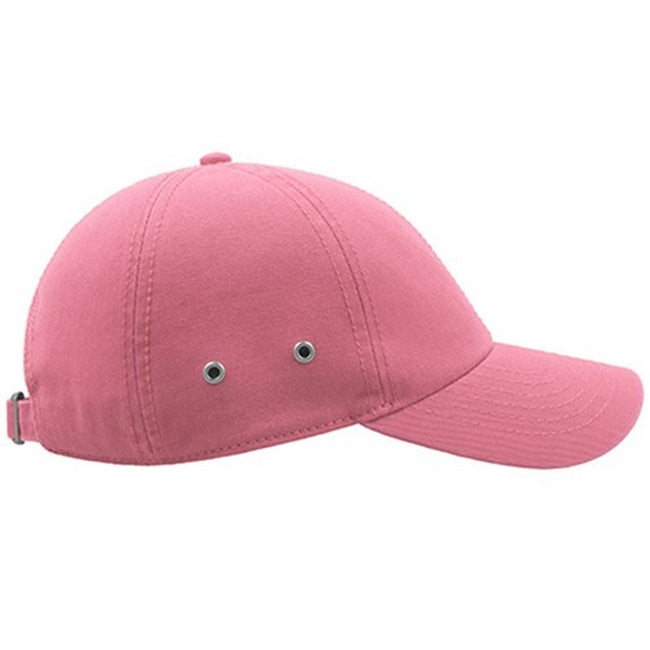Navy - Front - Atlantis Action 6 Panel Chino Baseball Cap