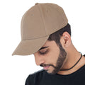Black - Front - Atlantis Liberty Six Buckle Brushed Cotton 6 Panel Cap