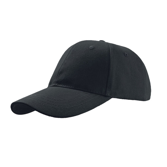 Grey - Front - Atlantis Liberty Six Buckle Brushed Cotton 6 Panel Cap