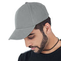 White - Front - Atlantis Liberty Six Buckle Brushed Cotton 6 Panel Cap