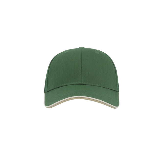 Royal - Front - Atlantis Zoom Piping Sandwich Sports 6 Panel Contrast Baseball Cap