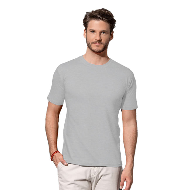 Navy - Front - Stedman Mens Classic Fitted Tee