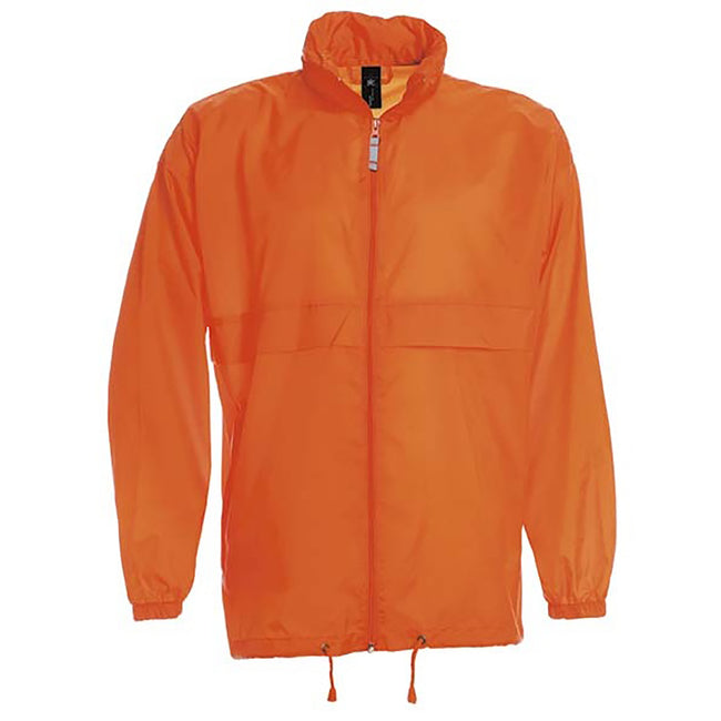 Atoll - Close up - B&C Sirocco Mens Lightweight Jacket - Mens Outer Jackets