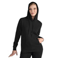 Sky Blue - Front - SG Ladies-Womens Plain Hooded Sweatshirt Top - Hoodie