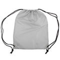 Silver Grey - Front - Shugon Stafford Plain Drawstring Tote Bag - 13 Litres