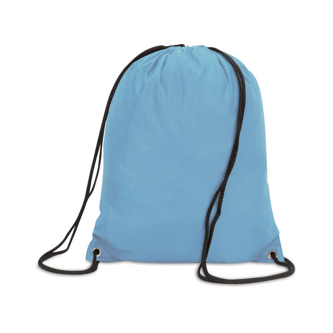 Sky Blue - Front - Shugon Stafford Plain Drawstring Tote Bag - 13 Litres