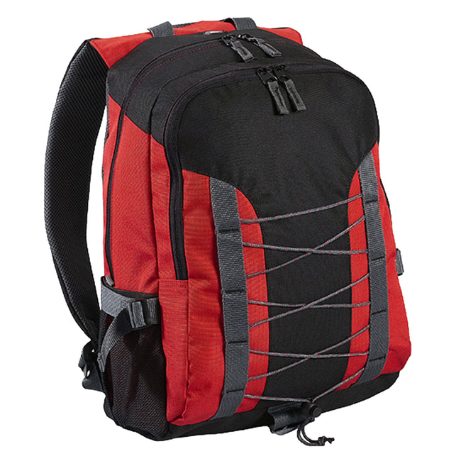 Red-Black - Front - Shugon Miami Backpack (26 Litres)