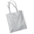 Light Grey - Front - Westford Mill Promo Bag For Life - 10 Litres