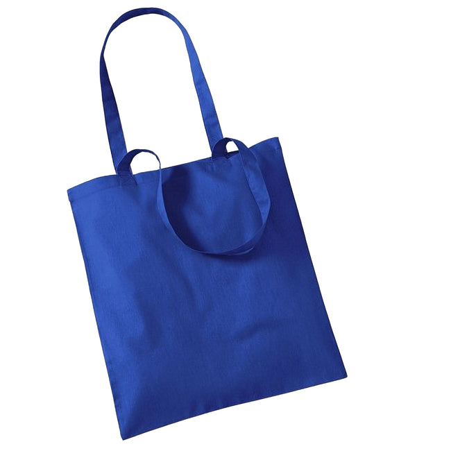 Bright Royal - Front - Westford Mill Promo Bag For Life - 10 Litres