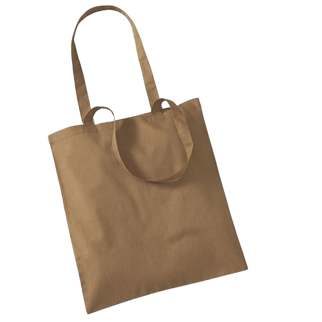 Caramel - Front - Westford Mill Promo Bag For Life - 10 Litres