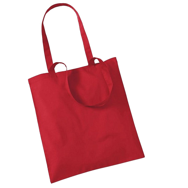 Classic Red - Front - Westford Mill Promo Bag For Life - 10 Litres