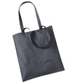 Graphite - Front - Westford Mill Promo Bag For Life - 10 Litres