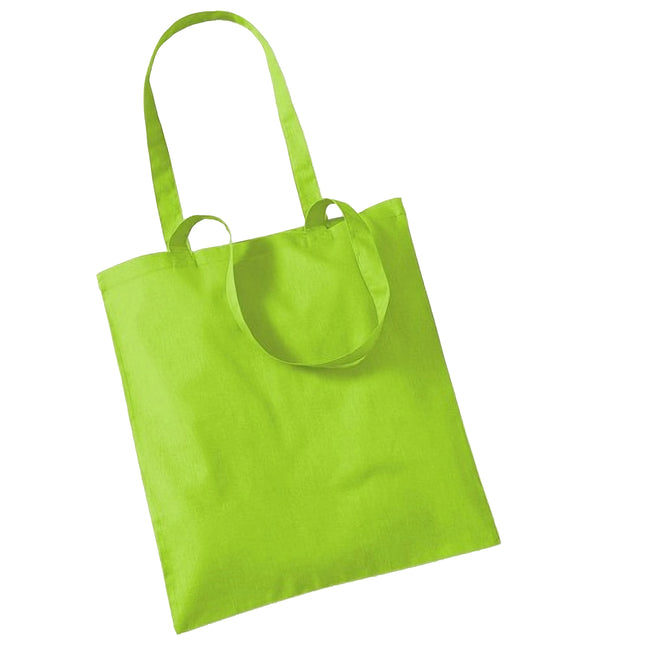 Orange - Front - Westford Mill Promo Bag For Life - 10 Litres