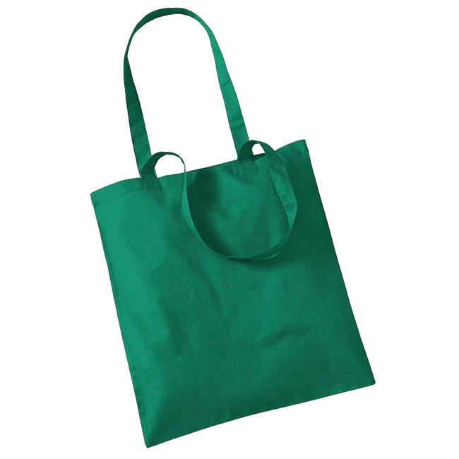 Kelly Green - Front - Westford Mill Promo Bag For Life - 10 Litres