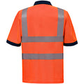 Hi Vis Orange - Lifestyle - Yoko Hi-Vis Short Sleeve Polo Shirt - Mens Workwear