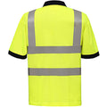 Hi-Vis Yellow - Lifestyle - Yoko Hi-Vis Short Sleeve Polo Shirt - Mens Workwear