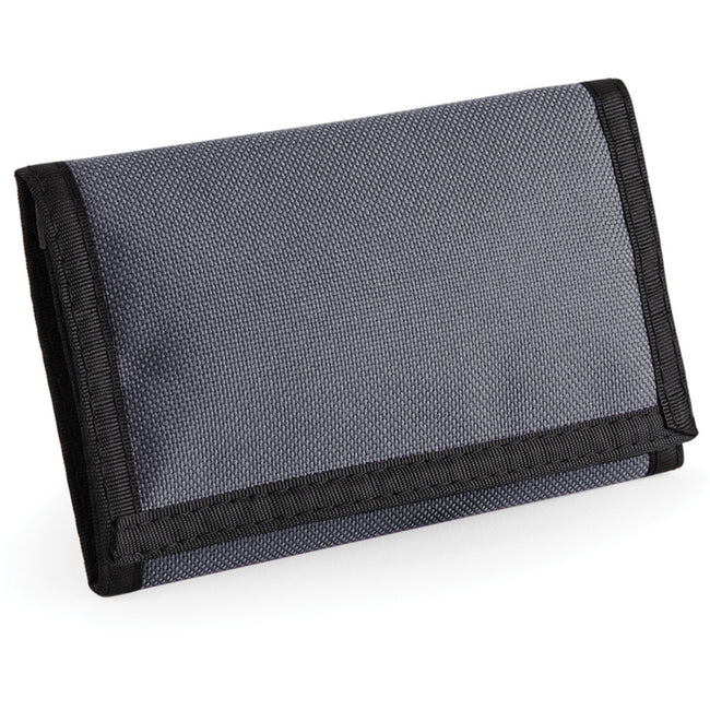 Graphite - Back - Bagbase Ripper Wallet