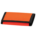 Orange - Front - Bagbase Ripper Wallet