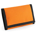 Orange - Back - Bagbase Ripper Wallet