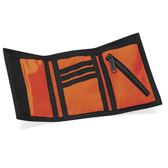 Orange - Side - Bagbase Ripper Wallet