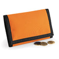 Orange - Pack Shot - Bagbase Ripper Wallet