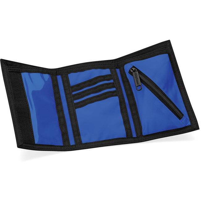 Bright Royal - Side - Bagbase Ripper Wallet