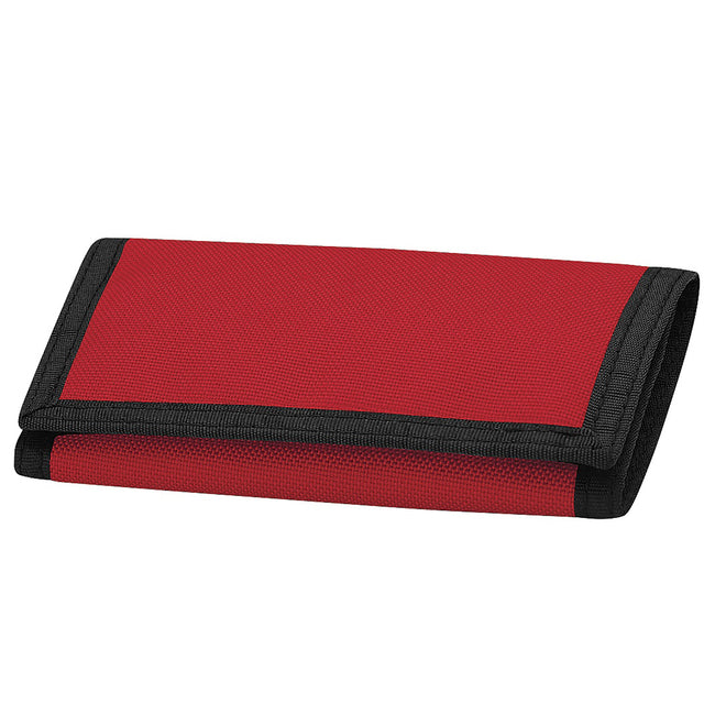 Classic Red - Front - Bagbase Ripper Wallet