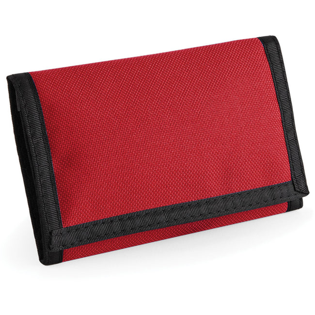 Classic Red - Back - Bagbase Ripper Wallet