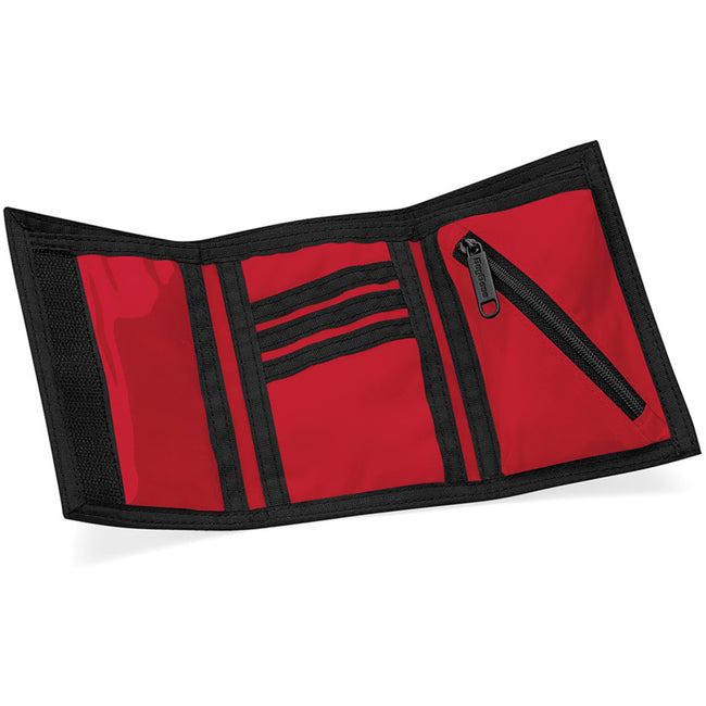 Classic Red - Side - Bagbase Ripper Wallet