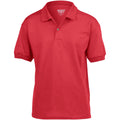 Red - Front - Gildan DryBlend Childrens Unisex Jersey Polo Shirt