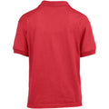 Red - Lifestyle - Gildan DryBlend Childrens Unisex Jersey Polo Shirt
