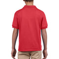 Red - Pack Shot - Gildan DryBlend Childrens Unisex Jersey Polo Shirt