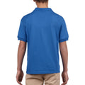 Royal - Pack Shot - Gildan DryBlend Childrens Unisex Jersey Polo Shirt