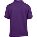 Purple - Lifestyle - Gildan DryBlend Childrens Unisex Jersey Polo Shirt