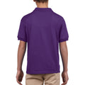 Purple - Pack Shot - Gildan DryBlend Childrens Unisex Jersey Polo Shirt