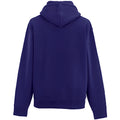 Purple - Side - Russell Mens Authentic Hooded Sweatshirt - Hoodie